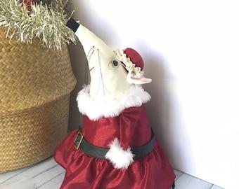 Mrs Claus Dormouse - Christmas Decor - Eco-conscious Decor