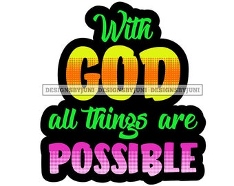 God Quote Faith Bless Peace Hop Love Belief Promise SVG PNG JPG  Vector Clipart Circuit Cut Cutting