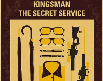 Water Bottle Stainless Steel Travel LIMITED EDITION Kingsman The Golden Movie A2