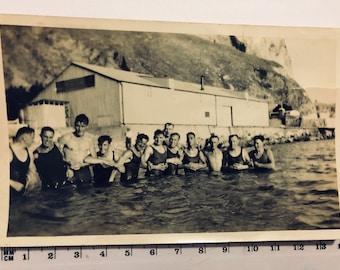 Vintage Photograph Handsome Groups of Men Friends Buddies Best Mates Lovers Affectionate Men Hunk Jock Gay Interest Photo Collection #073