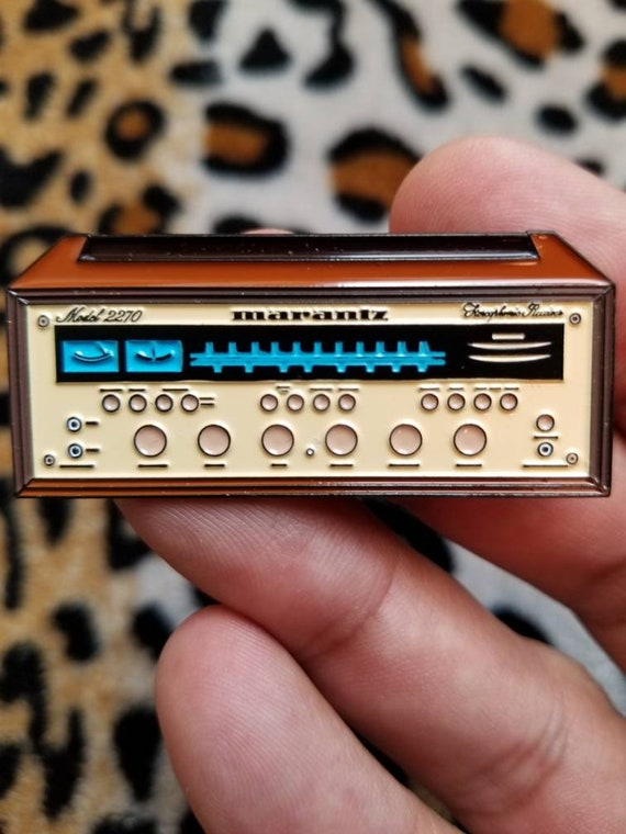 Limited Marantz 2270 Stereo Receiver Enamel Pin (Champagne Faced)