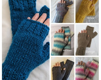 Fingerless Gloves, Womens
