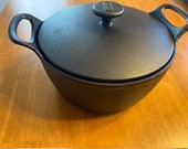 BF Dutch Oven - Very Rare Cast Iron pot like Lodge. Balti Handles