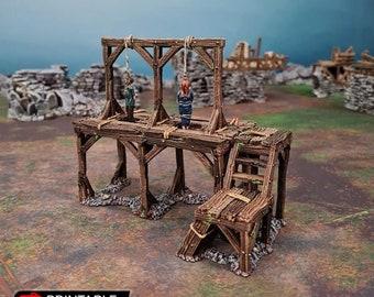 AoS Fantasy Terrain - Gallows Square
