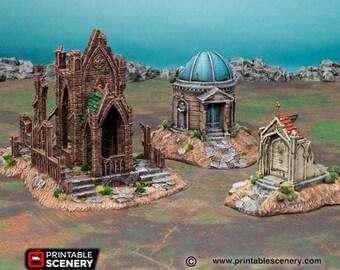 AoS Fantasy Terrain - Hallowed Mausoleums