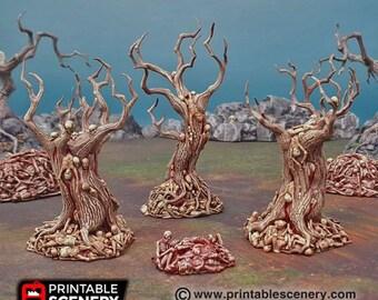 AoS Fantasy Terrain - Blood Trees