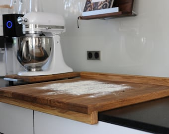 Handmade baking board / workboard made of solid wood oak or maple - different dimensions