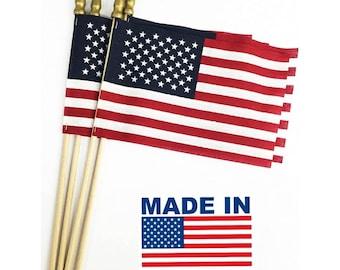 "Mexico Flag Mexician Flag Mini Stick Flag 4/""x6/"" 4x6 FAST USA SHIPPING"