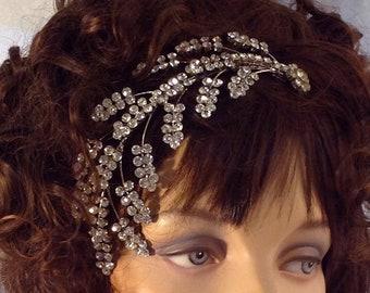 DISCOUNTED Bridal Comb ~ Bridal Hair Vine ~ Vintage Bridal ~ Wedding Hair Piece ~ Bridal Comb Headpiece ~ Rhinestone Comb ~ Headpiece Heaven