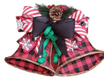 Bell Door Hanger, Christmas Bells