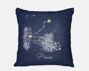 Zodiac Pillows Etsy