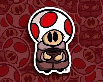 "Baby Toad-a (Grogu) 3"" Sticker"
