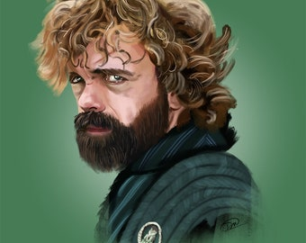 Tyrion Lannister Art Print | Game of Thrones | Peter Dinklage