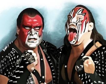 Demolition Art  Print | WWE