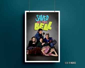 Saved By The Bell / Breakfast Club Print