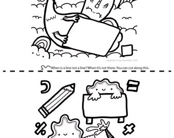 Printable Colouring Sheet 14 - Squibbles - Kids activities