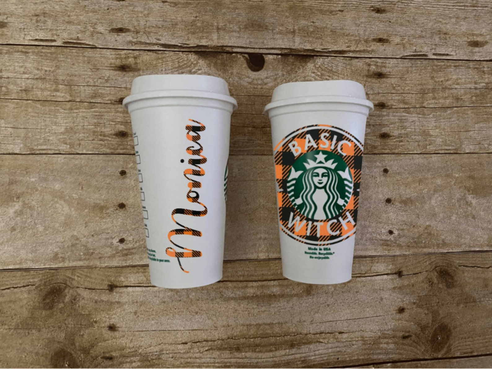 Halloween Witch Reusable Starbucks Tumblers Page Four