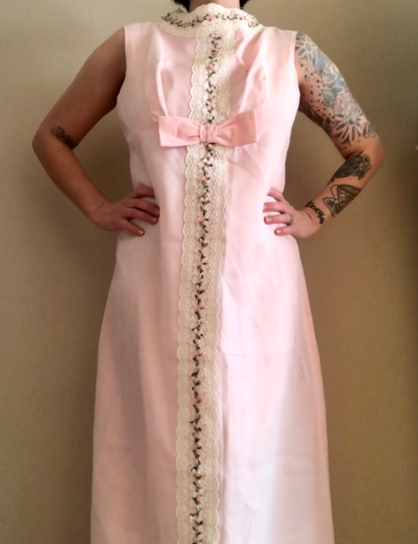 1950's Sylvia Ann Pink Dream Dress
