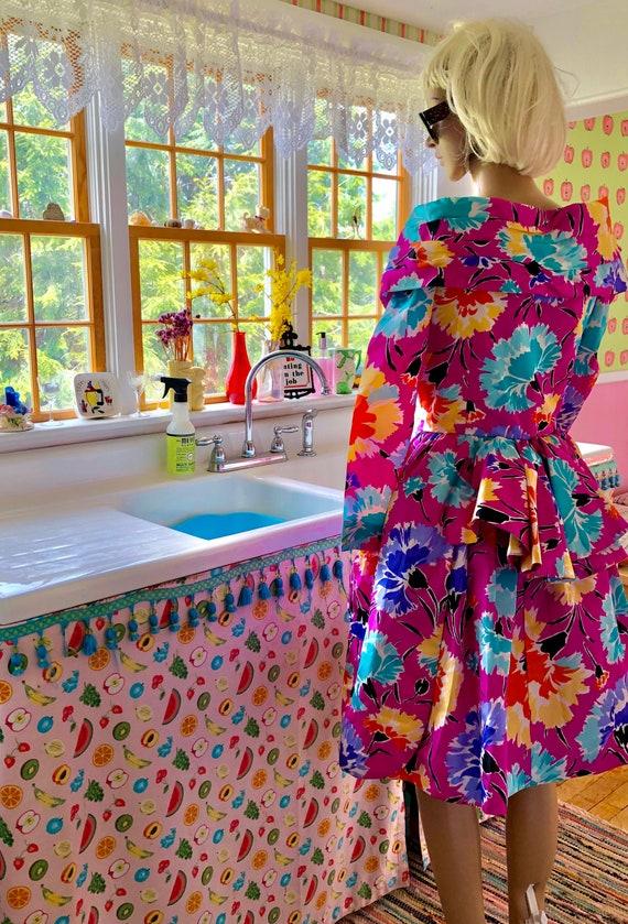 Fabulous Taffeta Victor Costa Party Dress