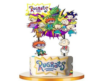 Astounding Rugrats Cake Toppers Etsy Funny Birthday Cards Online Necthendildamsfinfo