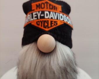 Motorcycle/Biker Gnome, Motorcycle rider, gift for biker fan