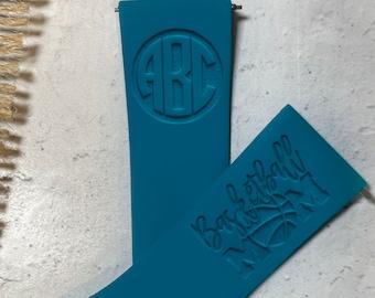 Watchband for Fitbit Versa – BASKETBALL MOM Engraved sport silicone Personalized Versa 1 Versa 2 Versa Lite
