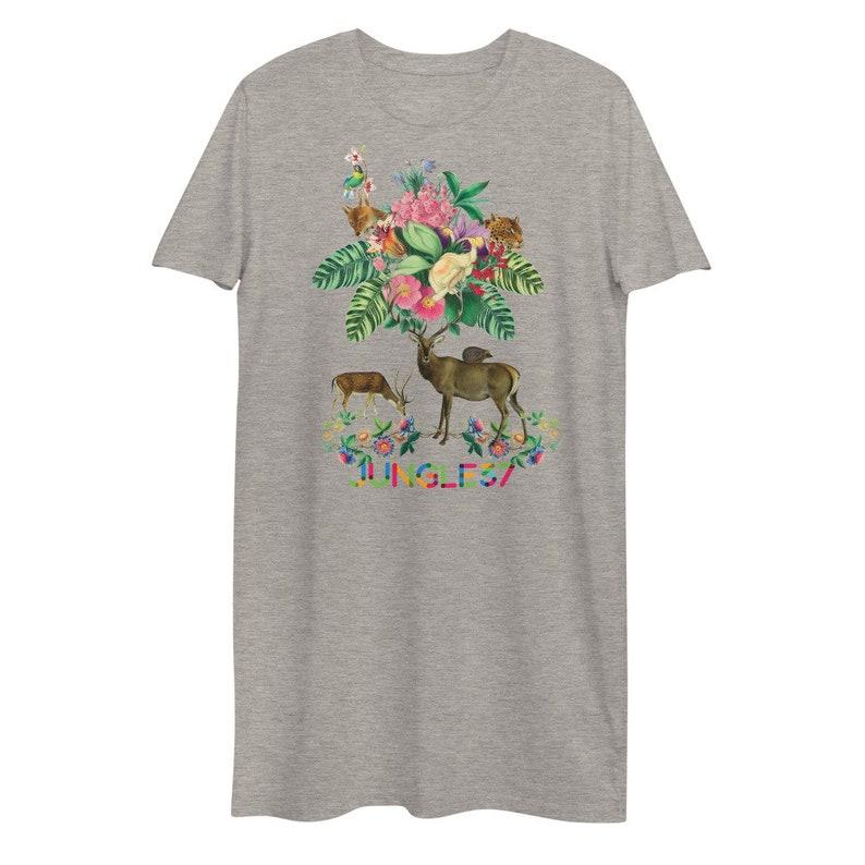 Organic cotton t-shirt dress dear