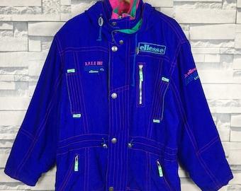 vintage ellesse vase skieng jacket 90s fishing gear