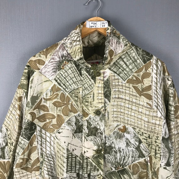 Karen Hart Silk Jacket Medium Vintage 90s Baroque… - image 3