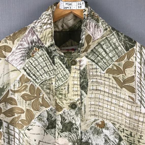 Karen Hart Silk Jacket Medium Vintage 90s Baroque… - image 5