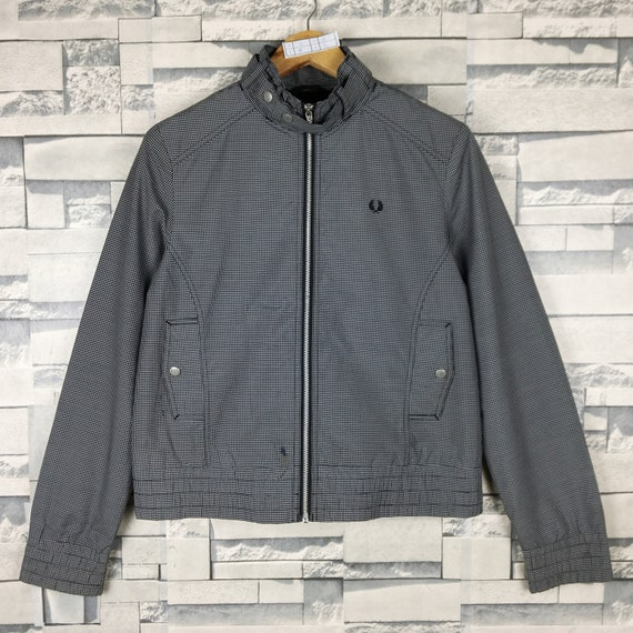 FRED PERRY Light Jacket Women Medium Vintage 90s F