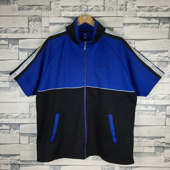 CHAMPION 90s Jacket Track Sweater 2XLarge Vintage