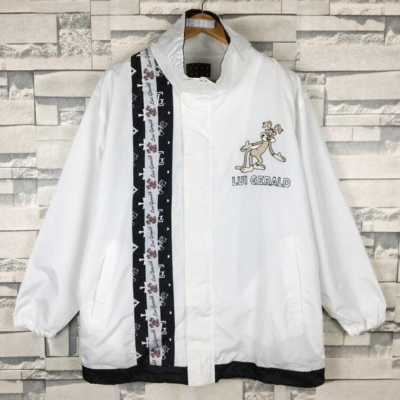 Lui Gerald Cartoon Jacket Large Vintage 90s Lui Ge