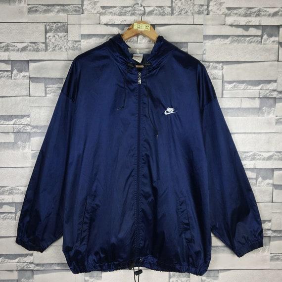 NIKE Light Jacket XLarge Vintage 90s Nike Swoosh S