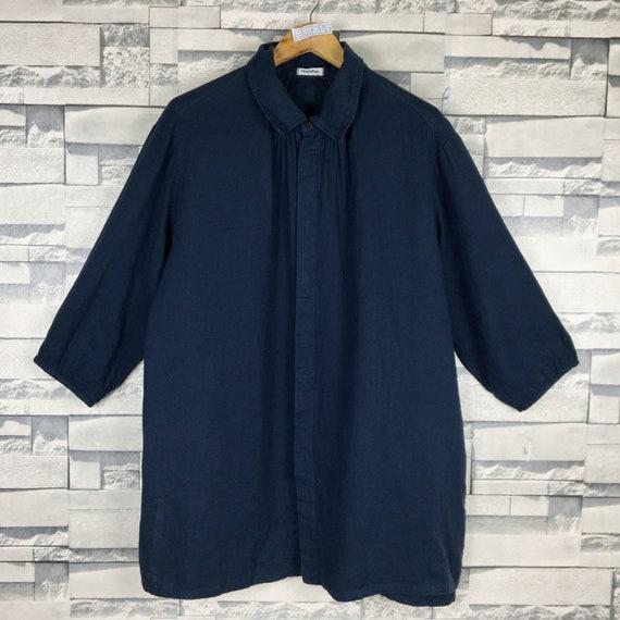 ISSEY MIYAKE Shirt Large Vintage Issey Miyake Plan
