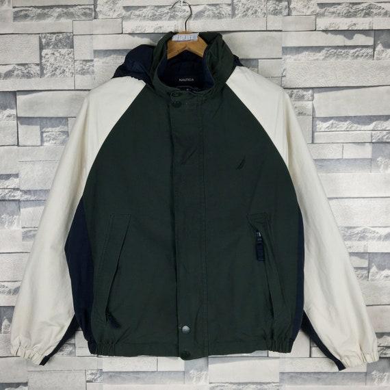 NAUTICA Reversible Jacket Small Vintage Nautica Re