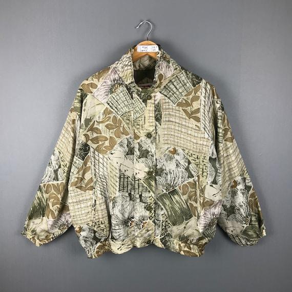 Karen Hart Silk Jacket Medium Vintage 90s Baroque… - image 1