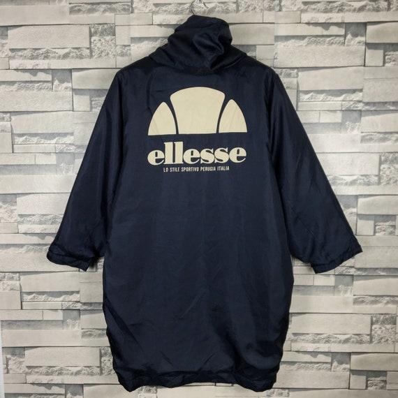 Vintage Ellesse Lo Stile Sportive 90s tennis big logo sport 80s 90s
