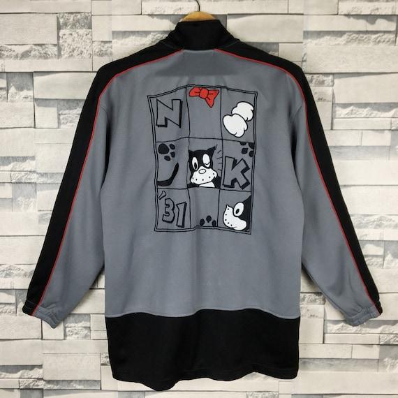 NORAKURO Track Jacket Medium Vintage 90s Norakuro