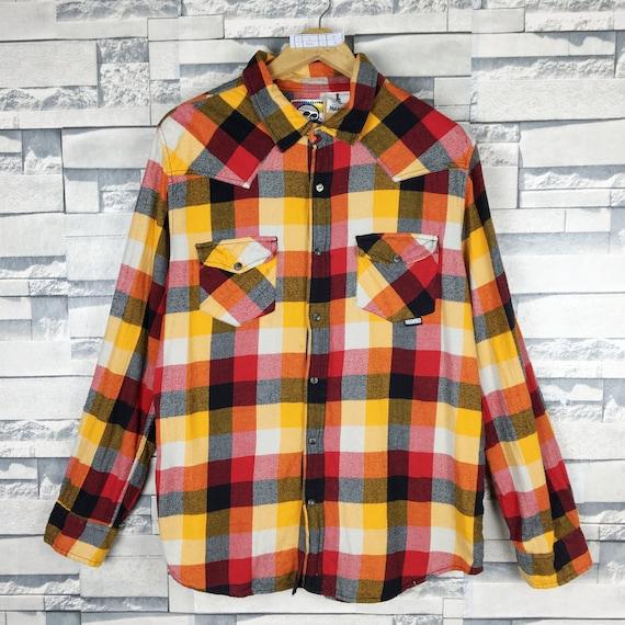 MAMBO Australia Flannel Shirt Large Vintage Mambo