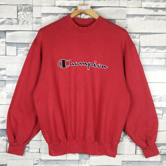 CHAMPION Sweatshirt Medium Vintage 90s Champion Sp