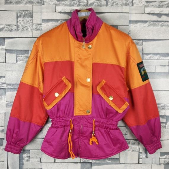 FILA Ski Jacket Women Vintage 90s Fila Ski Wear Wa