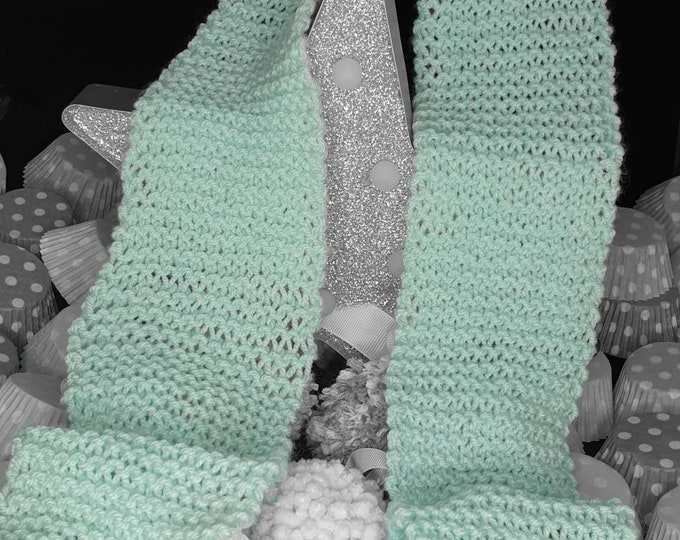 Baby Green super soft scarf