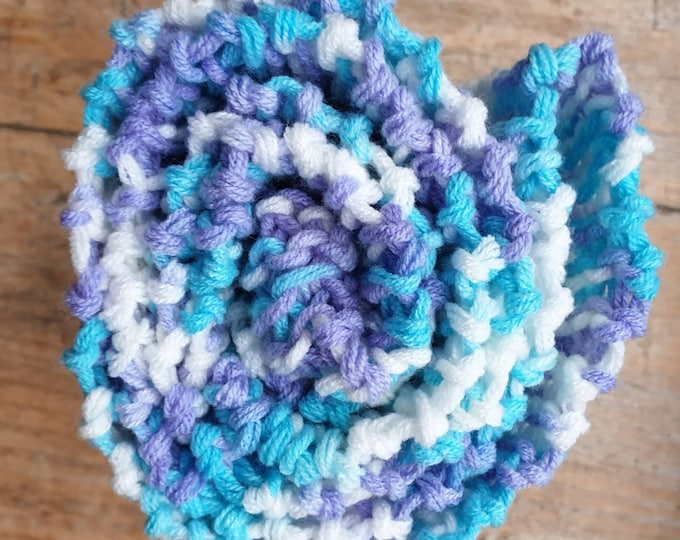 Super soft milk wool multi- colour scarf
