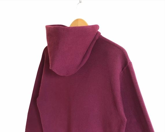 Vintage Russell Athletic Plain Hoodie Sweatshirt - image 5