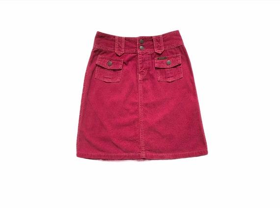 Vintage Hysteric Glamour Corduroy Denim Skirt