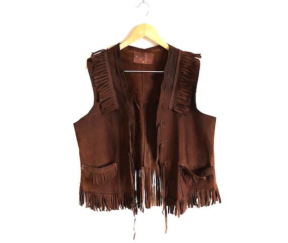 Vintage Cowboys Leather Vest