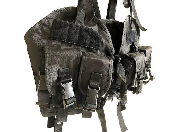 Vintage Multi Pockets Tactical Vest - image 5
