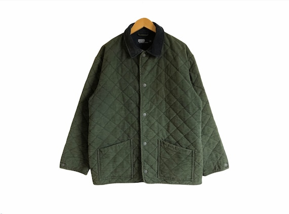 Vintage Polo Ralph Lauren Button Down Quilted Jack