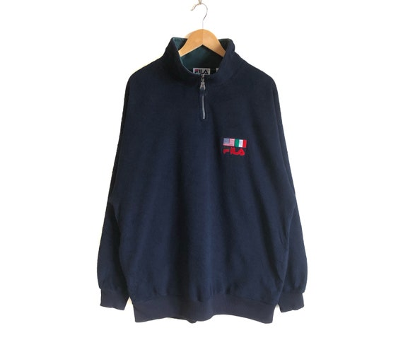 Vintage FILA Half Zip Fleece Sweater